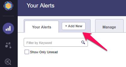 Add new alert