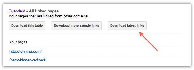 google_webmaster_tools_latest_links_download