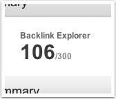 Backlink Explorer Credits