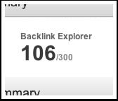 Backlink Explorer Credits