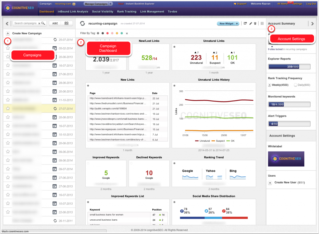seo-dashboard-cognitiveseo-overview