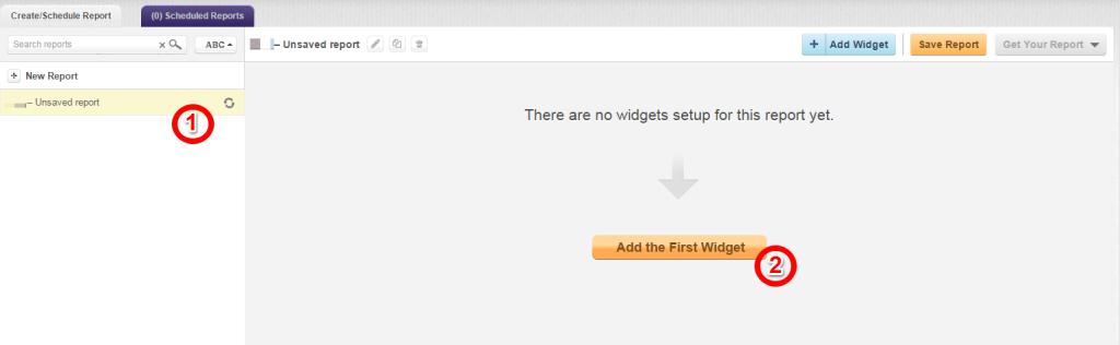 add first widget