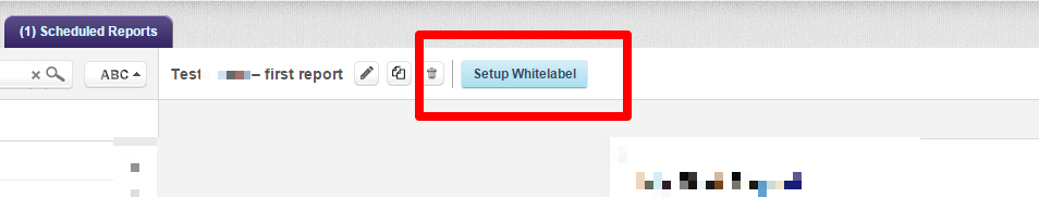 setup whitelabel