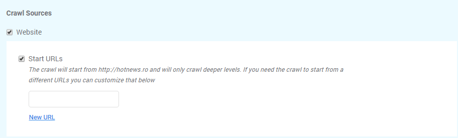 Crawl website